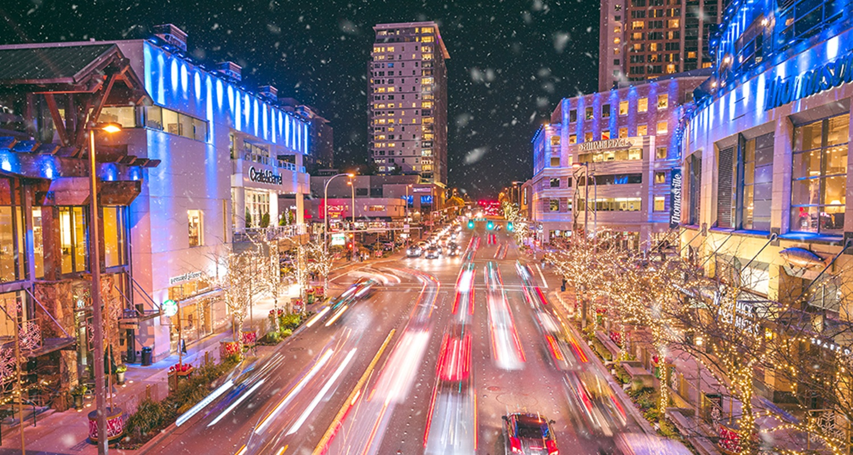 Visit Bellevue Snowflake Lane